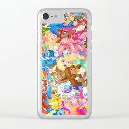 Dollightful Banner Art 2018 Clear iPhone Case