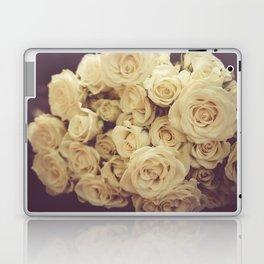 White Roses Laptop & iPad Skin