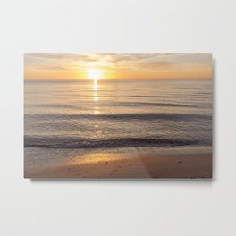 Sunset Solitude Metal Print
