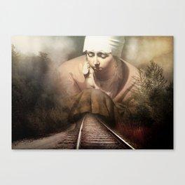 Hidden Road Canvas Print