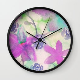 Everything Purple and Fantastic Wall Clock