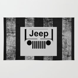 jeep retro Rug