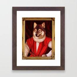 Fur Walter Raleigh Framed Art Print