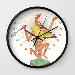 Instinct & Intuition. Wall Clock