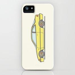 Honda Integra DA5 vector illustration iPhone Case