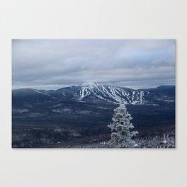 Winter Overlooking Sugarloaf Canvas Print