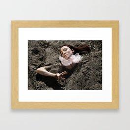 Birthing Virgo Framed Art Print