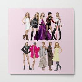Taylor S Evolution - Fan Art Metal Print