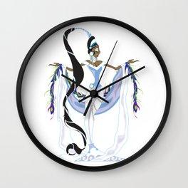Yemaya Divina Wall Clock
