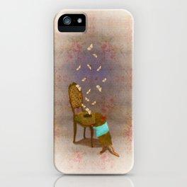 Matilda met a moth iPhone Case