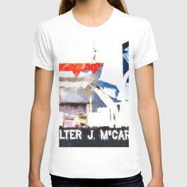 Walter J McCarthy JR Lifeboat T-shirt