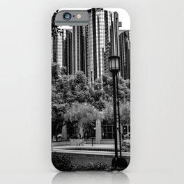 Maguire Garden Towers (b&w) iPhone Case