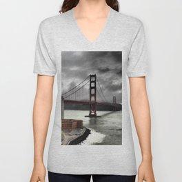 Golden Gate Bridge Unisex V-Neck