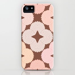 Garden Geranium Floral Leaf Pattern iPhone Case