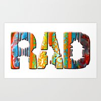RaD Conscious Art Print