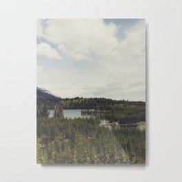 Taggart Lake Metal Print