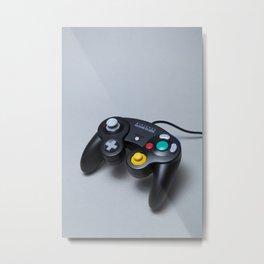Nintendo GameCube controller Metal Print