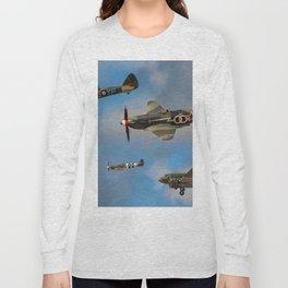 Vintage Aircraft Long Sleeve T-shirt
