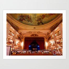 El Ateneo Grand Splendid, Buenos Aires Art Print