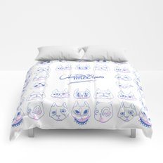 Chatons moches (Ugly Kitties) Comforters