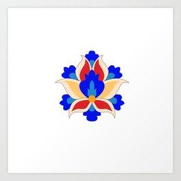 Eslimi Flower Art Print