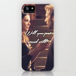 Luke and Lorelai - Stand Still iPhone Case