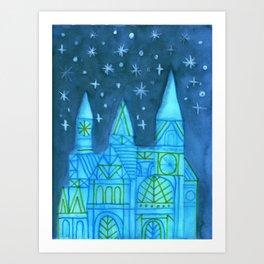 Crystal City 09-26-09a Art Print