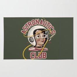 Astro Club (green) Rug