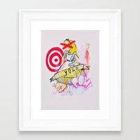 yolo Framed Art Prints featuring YOLO by John O'Connor