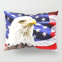 Bald Eagle Pillow Sham