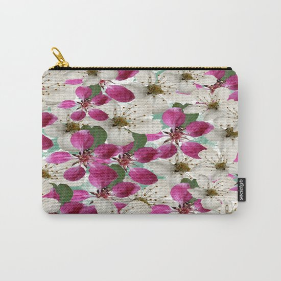 Spring Blossoms Abstract  Carry-All Pouch