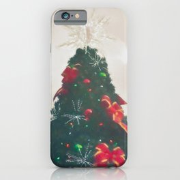 Christmas Tree 5 #painting  iPhone Case