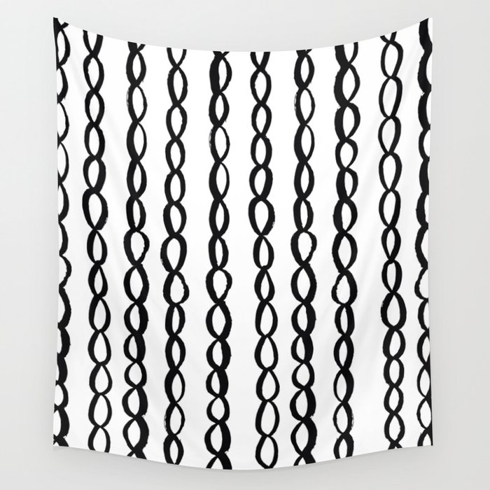 Chain Chain Chain Wall Tapestry