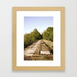 Tressed Framed Art Print