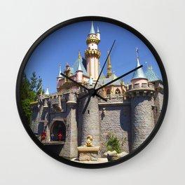 Sleeping Beauty Castle (Daytime no.2) Wall Clock