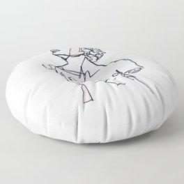 Chin Up Floor Pillow