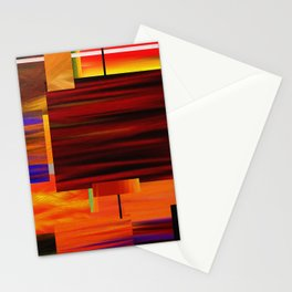 Square art Stationery Cards