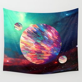 space oddity Wall Tapestry