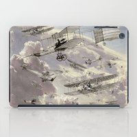 airplanes iPad Cases featuring airplanes 2 by Кaterina Кalinich