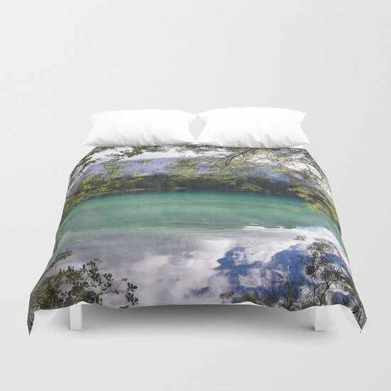 When Nature Sings Her Lullaby Duvet Cover