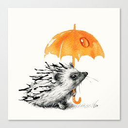 Today's Rain Is Tomorrow's Whisky Canvas Print