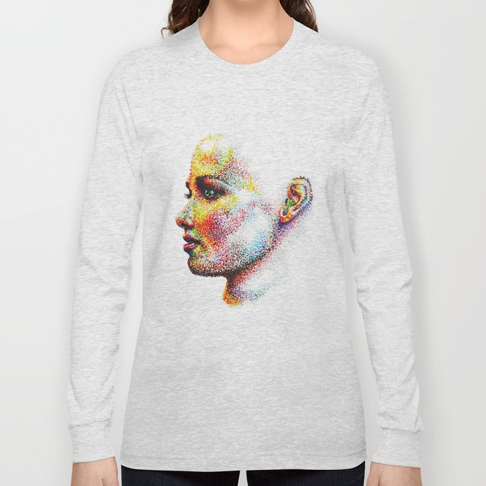 Head Pointed Out Long Sleeve T-shirt