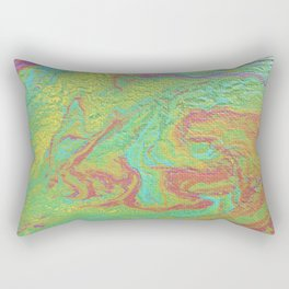 Canvas Catastrophe Rectangular Pillow