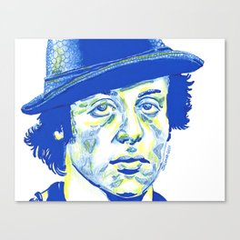 Rocky Balboa in a Hat Canvas Print