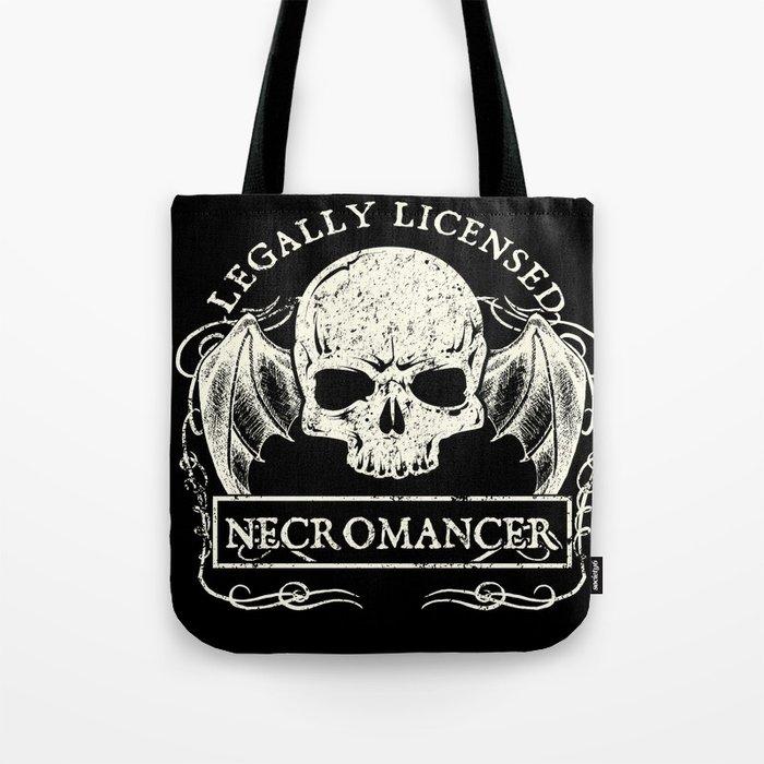 Legally Licensed Necromancer Tote Bag