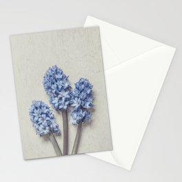Light Blue Hyacinths Stationery Cards