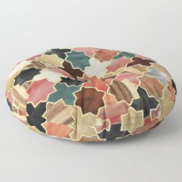 Twilight Moroccan Floor Pillow