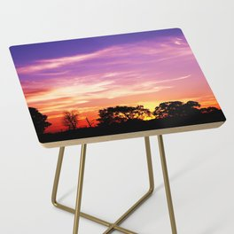 East Texas Sunset Side Table
