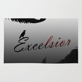 EXCELSIOR | The Raven Cycle by Maggie Stiefvater Rug