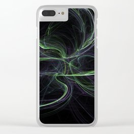 The Frequency of Desire Clear iPhone Case